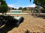Modern villa with private pool in traditional Languedoc village near Mediterranean beaches (NISS105)
