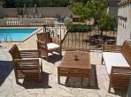 Villa. Nissan Lez Enserune. Languedoc. Property. Holiday Home. Patio.