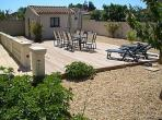 Villa. Nissan Lez Enserune. Languedoc. Property. Holiday Home. Terrace.