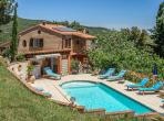 Spacious country house with swimming pool and 6 bedrooms near Perpignan (OMS101)