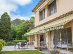Beautiful villa with a lot of character, heated swimming pool and tennis court. Near Mougins. Sleeps 16, 8 bedrooms. (PEGO102OL)