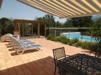 Luxury 5-bedroom Villa with secure pool, near village. Sleeps from 4 to 10-12 (PERP107)