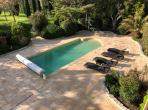 Gorgeous Villa with Heated Pool and Extensive Gardens. 6 bedrooms, sleeps 12  (PEZ121)