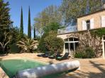 Gorgeous Villa with Heated Pool and Extensive Gardens. 3 bedrooms, sleeps 6 (PEZ136)