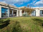 Stunning modern villa with secure fenced pool, a lot of outdoor room, near from historical village of Pezenas. Sleeps 12. (PEZ146)