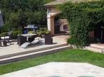 French luxury villa for vacation in Plascassier, Cote D Azur. Sleeps 8, 4 bedrooms. Private Pool. (PLAS102Q)