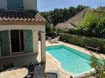 Spacious modern detached house with private swimming pool - sleeps 8 (POIL106)
