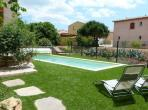 POR108 - Very pretty 3 bedroom villa, complete with a private swimming pool, located in Portiragnes. Sleeps 9.