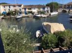 House in Port Grimaud, large lounge, garden with patio. Sleeps 5. (PTGR118D)