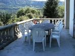 Le Caussigne Rivel Languedoc rental holiday visit property country house balcony