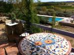 Lovely stone-built holiday villa near Pézenas. 3 bedrooms and pool (ROU102)