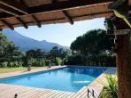 Luxury villa with beautiful pool, large garden and mountain views, perfect for families, child friendly. 5 bedrooms, sleeps 10-12. (RSA102)