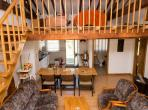 Gite to sleep 8 with shared swimming pool  (SAI101)