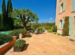 Manoir with private pool and gardens near Salernes. 7 bedrooms to sleep 13 (SAL103)