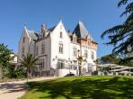 Luxury 4 Bedroomed House with Terrace on Chateau estate. Shated Heated Pool, Spa, Tennis (SPDS106)