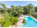 Beautiful summer villa near Vence. Private pool and sleeps 14. (SPDV107ol)