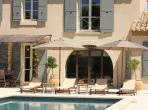 Beautiful newly built holiday villa located within walking distance of Saint Remy de Provence, boasting 5 bedrooms and a private pool. Sleeps 10. (SRDP127EE)