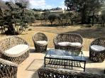 Eye-catching luxury Bastide with gym and pool near St Rémy de Provence. 5 bedrooms, sleeps 10 (SRDP130YF)