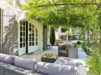 Renovated Farmhouse found in the outskirts of St Remy de Provence with much land and gorgeous pool. 7 bedrooms, sleeps 14. (SRDP134YF)