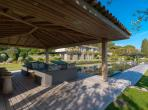 A luxury Villa of contemporary style situated in a private domain off the Route de Tahiti. 9 bedrooms and 9 bathrooms. Beautiful pool. (STPZ173HR)