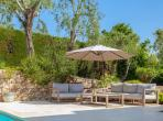 Elegant Villa with Heated Pool. Walking distance into Valbonne. 4 bedrooms, sleeps 8 (VALB121Q)
