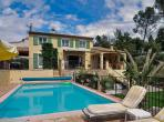 Luxury French Riviera family holiday villa - Villa Claire in Vence sleeps 10 (VENC106Q)