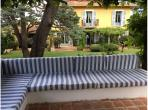 Luxury Villa with heated pool near Villefranche sur Mer. Sleeps 10, 6 bedrooms (VFSM106)