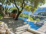 Luxury Villefranche villa with TWO pools. Five bedrooms, sleeps 10 (VILL110PV)