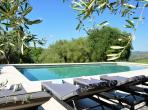 Stunning 18th century Italian influence Olive Farm in Villeneuve-Loubet. Private pool, sea view, sleeps 14. (VLOUB101)