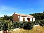 Villa Dominique Agel Herault Languedoc rental holiday visit property private garden BBQ