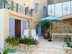 House. St Genies de Fontedit. Languedoc. Property. Holiday home. Outside terrace.