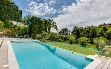 Exclusive luxury villa with gym and hammam, 6 ensuite bedrooms in Cannes (CANN127SB)