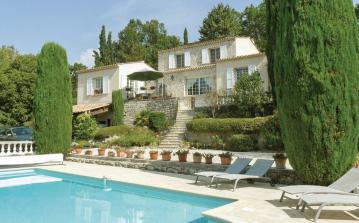 4 bedroom holiday home to sleep 8 near fayence cote dazur (FAYFCV824)
