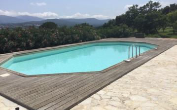 19th Century Farmhouse with Big Pool and Stunning Views. Sleeps 6, 3 bedrooms. (GRIM133)