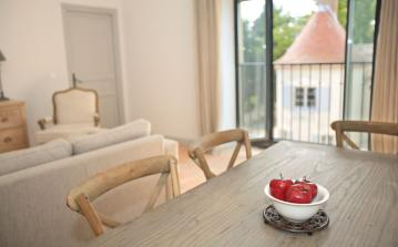 Apartments with terrace and Garden. Heated Shared Pool and Activities. 2 bedrooms, sleeps 4 (LESCA102)