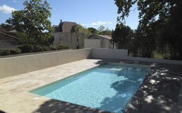 LEZC101 - Beautiful 3 bedroomed villa in a renovated chateau, located in peaceful Lezignan la Cebe, with shared swimming pool. Sleeps 7.