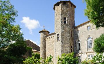 Luxury 12th century Chateau with pool. Sleep 15 in 7 bedrooms (MINE101OL)