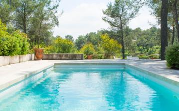 Beautiful Modern Villa Spatious Mediterranean Outdoor Setting Sleeps 9 (MONT145GN)