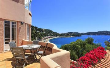 Amazing views from villa on coast of Nice sleeps 9 (NICE123ol)