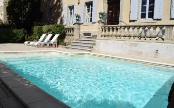 Traditional French manor with private heated swimming pool - sleeps 12. (PEP102)