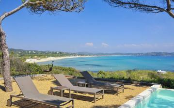 RAM108Q - Ramatuelle Beach front Luxury Villa to sleep 10 in St Tropez Var