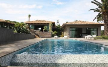 RAM114D - Modern luxury villa with private pool to sleep 12 in exclusive Ramatuelle near St. Tropez