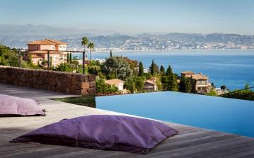 Prestigious 5 bed luxury villa with infinity pool and stunning sea views in Théoule-sur-mer (THSM105SB)