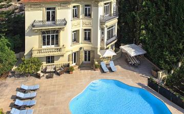 Large 5 bedroom Belle Epoque villa in Villefranche sur Mer. Sleeps 10. (VILL109)
