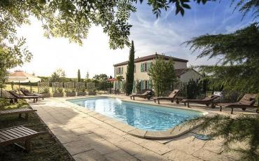 A stunning, luxury, country-style villa with private pool. Sleeps 14, 6 bedrooms.